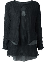 Fabiana Filippi 'Twinset' Jacket Black