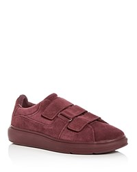 Creative Recreation Men's Meleti Suede Lace Up Sneakers Dark Burgundy