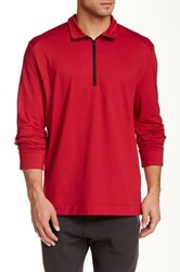 Victorinox Half Zip Ibach Red Sweater