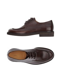 44d21cf55281 A.P.C. Footwear Lace Up Shoes Dark Brown