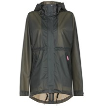 Hunter Vinyl Smock Raincoat Green