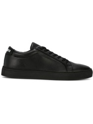 Les Artists Les Art Ists Classic Lace Up Sneakers Black