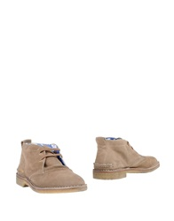 Golden Goose Ankle Boots Sand