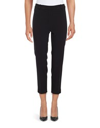 Ellen Tracy Zip Ankle Slim Fit Dress Pants Black