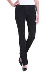Liverpool Jeans Company Women's Sadie Mid Rise Stretch Straight