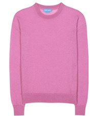 Mih Jeans Inka Mohair Blend Sweater Pink