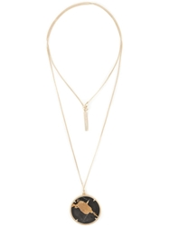 Givenchy Marble Pendant Necklace