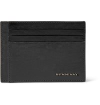 Burberry Bernie Cross Grain Leather Cardholder Black