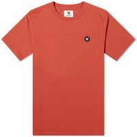 Wood Wood Ace Tee Red