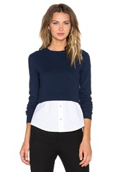 Marc By Marc Jacobs Crew Neck Sweater Navy