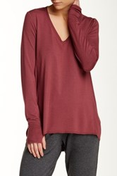 Central Park West The Mey Long Sleeve Shirt Red