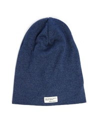 Nudie Jeans Blue Hannesson Beanie