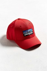 Patagonia P 6 Logo Roger That Hat Red