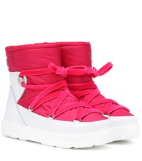 Moncler Stephanie Ankle Boots Pink