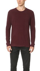 Simon Miller M301 Tulare Long Sleeve Tee Oxblood