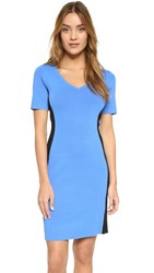 Paul Smith V Neck Dress Blue