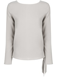 Polo Ralph Lauren Crepe Top Nude And Neutrals