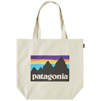 Patagonia Canvas Logo Tote Neutrals