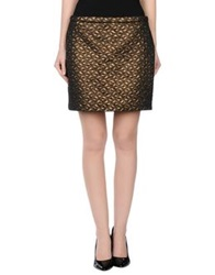 Silvian Heach Mini Skirts Bronze