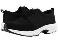 Drew Shoe Excel Black Mesh Stretch Women's Lace Up Casual Shoes