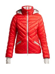 Toni Sailer Clementine Quilted Ski Jacket Red