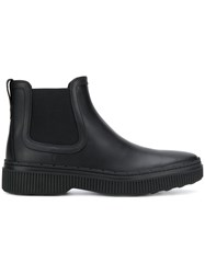 Tod's Chelsea Ankle Boots Black
