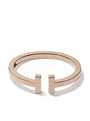 Tiffany And Co. Co 18Kt Rose Gold T Square Cuff Metallic