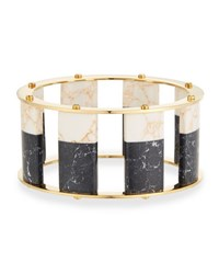 Lele Sadoughi Tall Stackable Bangle Multi