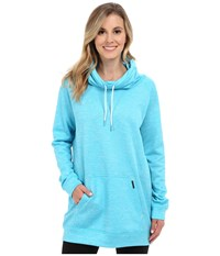 New Balance Sunrise Sweatshirt Bayside Heather Women's Sweatshirt Blue