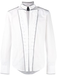 Jean Paul Gaultier Vintage Military White Shirt
