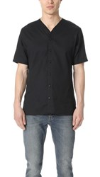 The Kooples Baseball Shirt Black