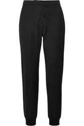 Chinti And Parker Wool Blend Track Pants Black