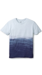Quality Peoples Ocean Dip Dye T Shirt