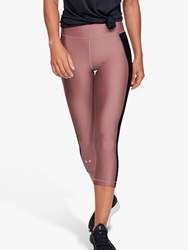 Under Armour Heatgear Capri Training Tights Pink Black