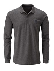 Henri Lloyd Men's Nidd Ls Regular Polo Grey Marl
