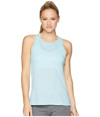 Asics Legends Racerback Tank Top Porcelain Blue Sleeveless