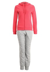Adidas Performance Tracksuit Joy Grey Heather Pink
