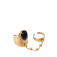 Ela Stone Double Liad Ring