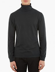 Our Legacy Green Jersey Army Turtle Neck