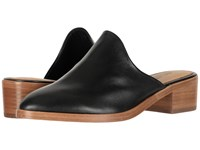 Soludos Venetian Mule Black Shoes