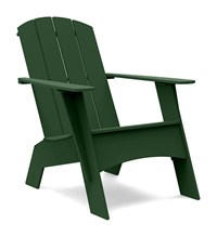 Loll Designs Tall Adirondack Curved Chair Green