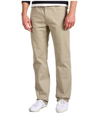 Michael Kors Stretch Twill Classic Jean Chino Men's Casual Pants Khaki