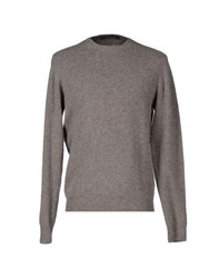 Private Lives Knitwear Jumpers Men Dove Grey