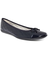 French Sole Fs Ny Passport Flats Women's Shoes Navy Navy