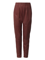 Drome Relaxed Fit Leather Trousers