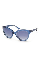 M Missoni Women's Cat Eye Acetate Sunglasses Blue