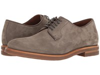 Aquatalia By Marvin K Collin Grey Dress Suede Men's Lace Up Casual Shoes Brown
