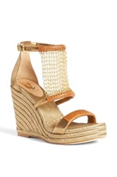 Vc Signature 'Dellah' Wedge Sandal Metallic