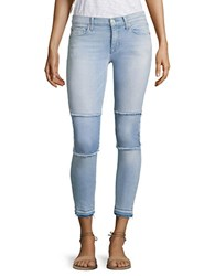 Hudson Jeans Suzzi Patched Raw Edge Super Skinny Ankle Venue