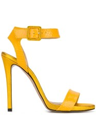 Marc Ellis Strappy Sandals Yellow
